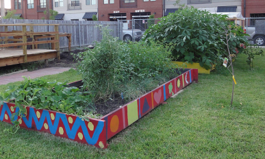 WiseWords Community Garden by Bart Everson, wikimedia commons