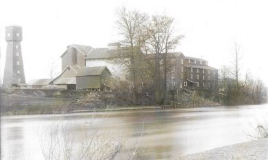 Fischer's Flour Mill. Benton County Historical Society and Museum Collection (Harriet Moore collection) #1990-068.1292