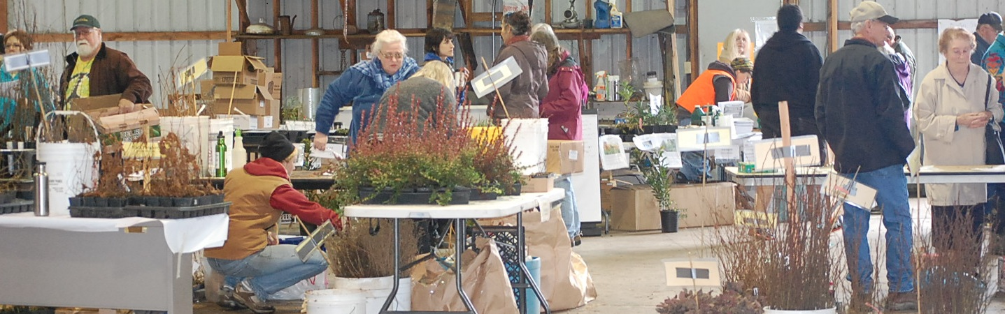 Volunteers at the Native Plant Sale © H. Crosson