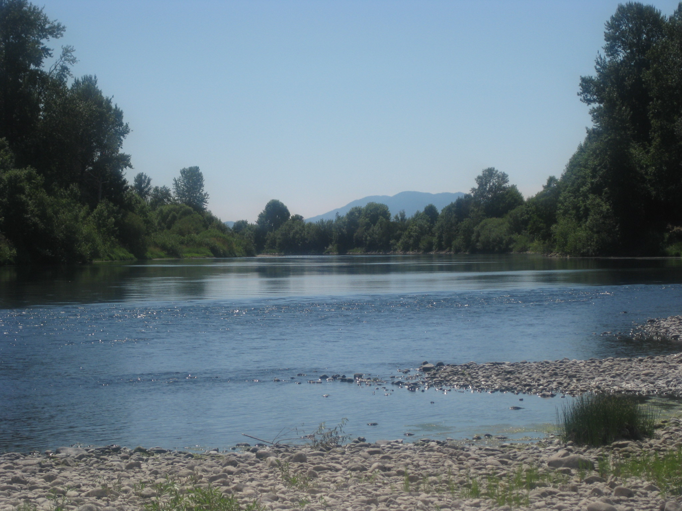 The Beautiful Willamette River © M. Evelyn