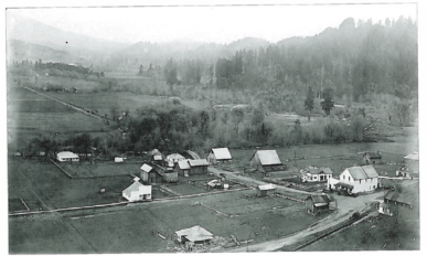View of Alsea from 1915.