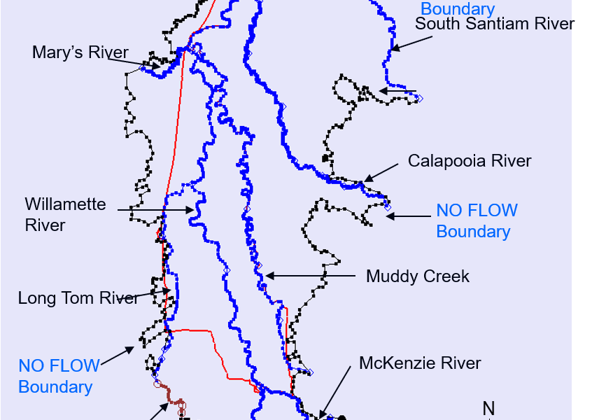 Groundwater Management Area map